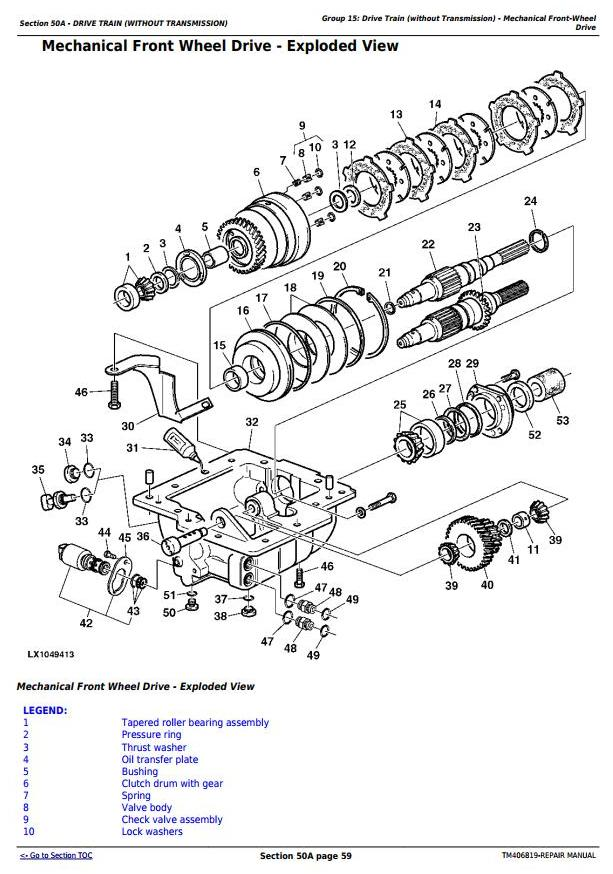 TM406819 - John Deere 6110R, 6120R, 6130R and 6135R (Final Tier 4) Tractors Service Repair Manual - 2