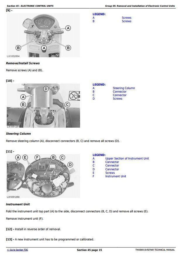 TM406919 - John Deere 6145R, 6155R, 6155RH, 6175R, 6195R, 6215R Tractors Repair Technical Manual - 1