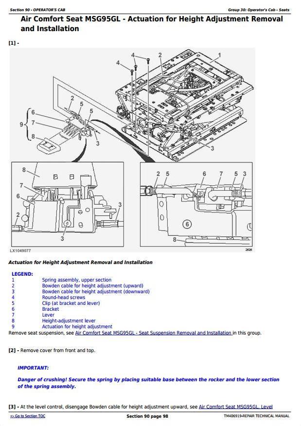 TM406919 - John Deere 6145R, 6155R, 6155RH, 6175R, 6195R, 6215R Tractors Repair Technical Manual - 3