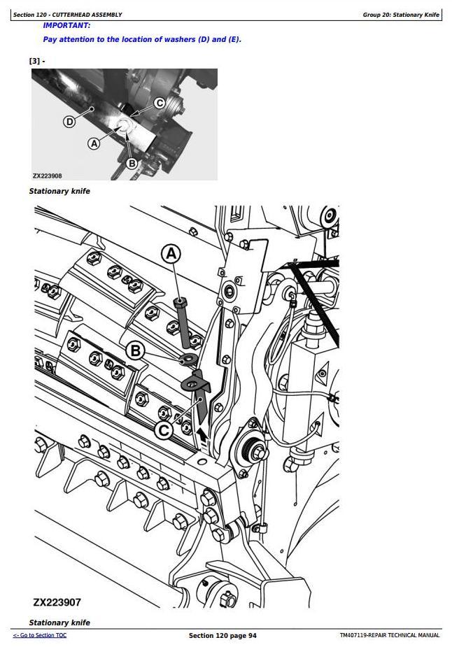 TM407119 - John Deere 8100, 8200, 8300, 8400, 8500, 8600, 8700, 8800 Forage Harvester Service Repair Manual - 3
