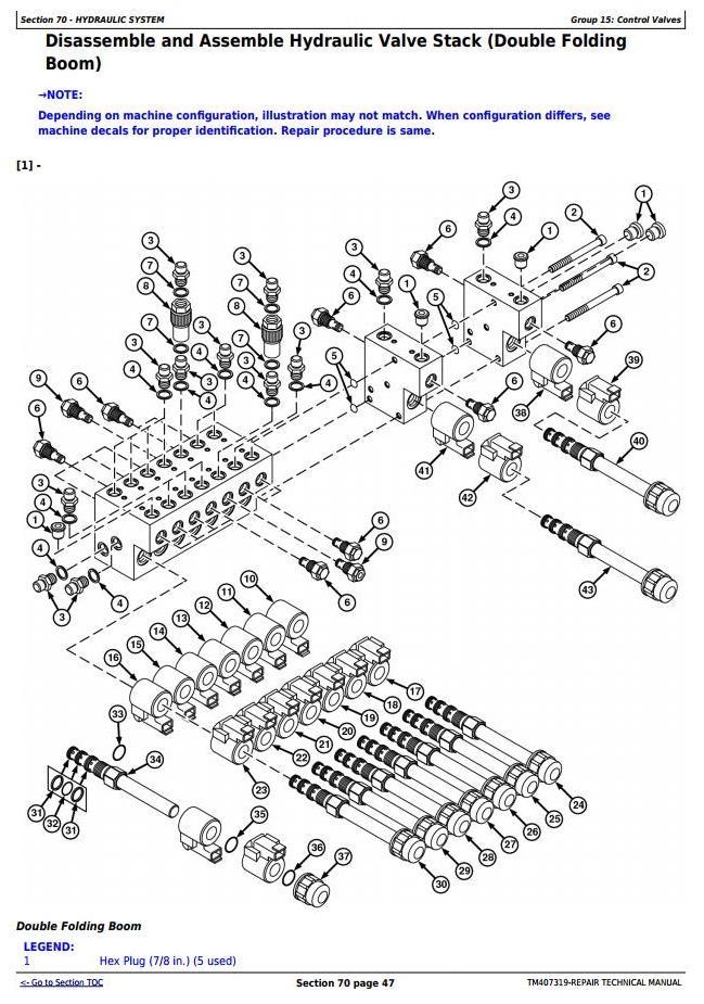 TM407319 - John Deere M724, M732, M740, M732i, M740i Trailed Crop Sprayers Service Repair Tech.Manual - 2