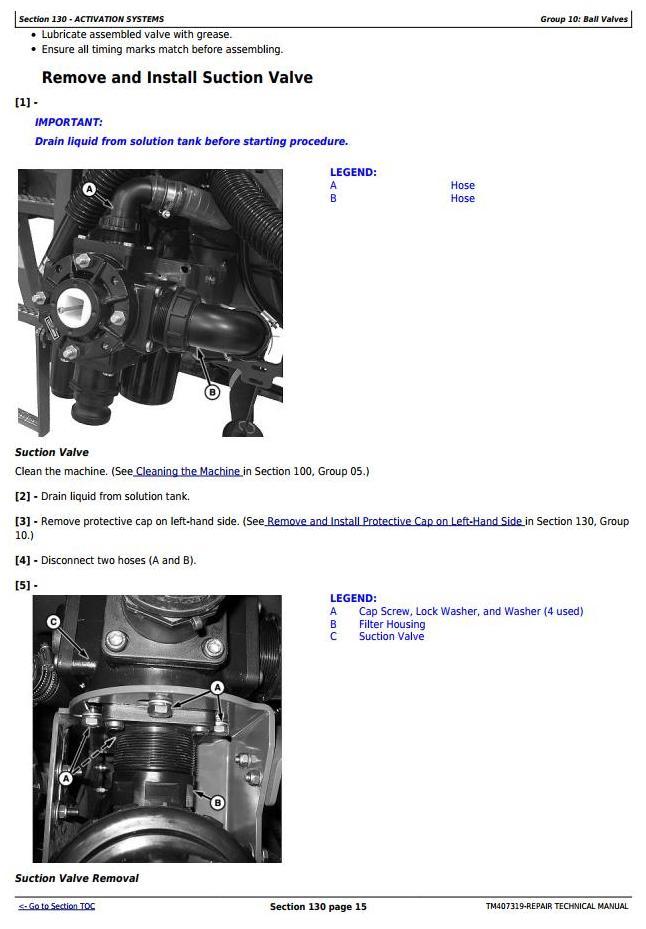 TM407319 - John Deere M724, M732, M740, M732i, M740i Trailed Crop Sprayers Service Repair Tech.Manual - 3