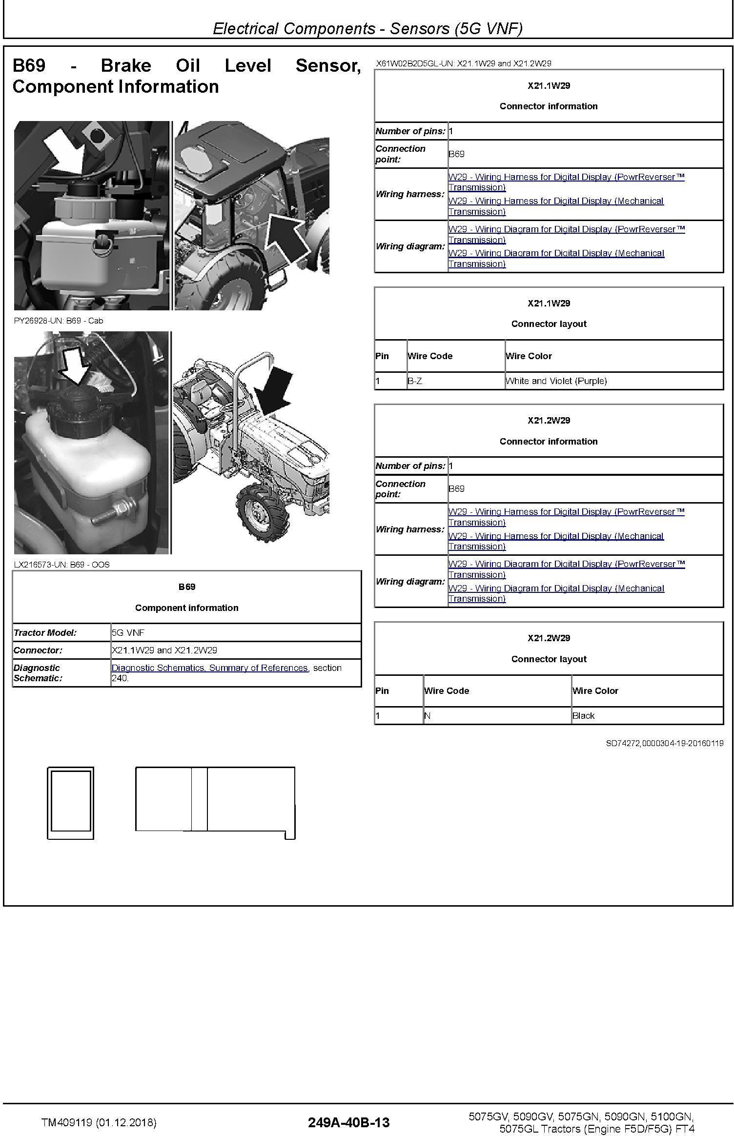 John Deere 5075GV 5090GV 5075GN 5090GN 5100GN 5075GL MY2016-19 Tractors Diagnostic Manual (TM409119) - 3