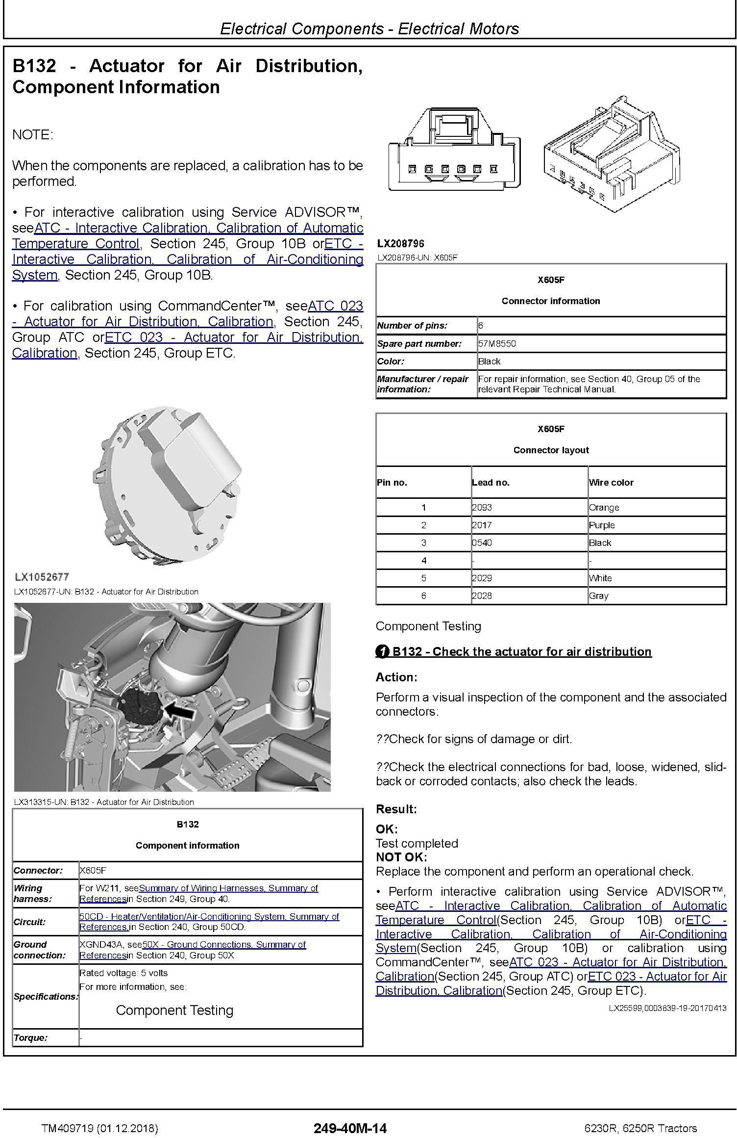 John Deere 6230R, 6250R Tractors MY2017,18,19 Diagnostic Technical Service Manual (TM409719) - 2