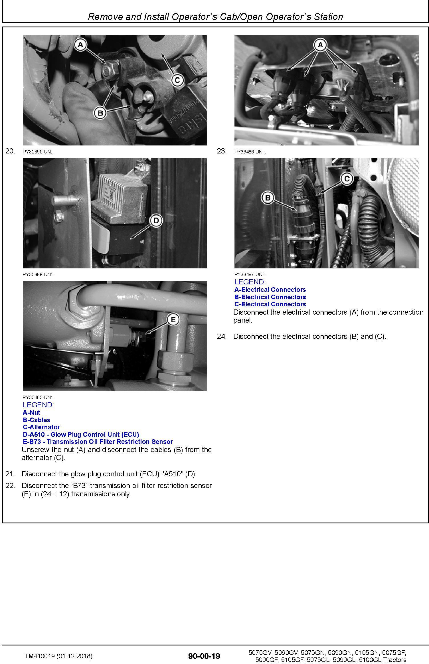 John Deere 5075GF/L/N/V, 5090GF/L/N/V, 5100GL, 5105GF/N Tractors Repair Technical Manual (TM410019) - 3