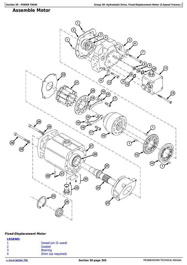 TM4668 - John Deere 7200, 7300, 7400, 7500, 7700, 7800 Self-Propelled Forage Harvester Repair Manual - 2