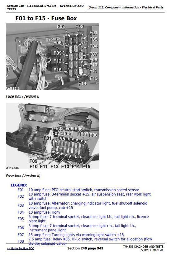 TM4856 - John Deere Tractors 5215, 5315, 5415, 5515 All Inclusive Diagnostic and Repair Service Manual - 3