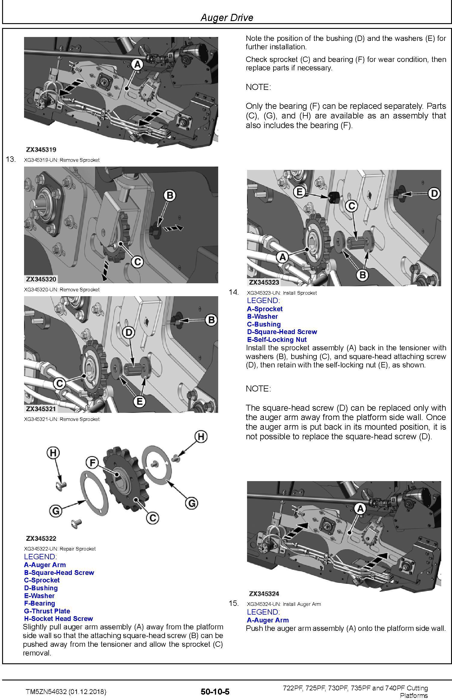 John Deere 722PF, 725PF, 730PF, 735PF and 740PF Cutting Platforms Technical Manual (TM5ZN54632) - 3