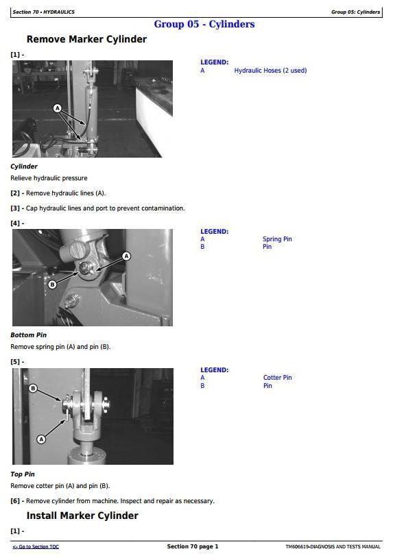TM606619 - John Deere 1740 Drawn Planters (SN.750101-) Diagnostic and Repair Technical Service Manual - 2