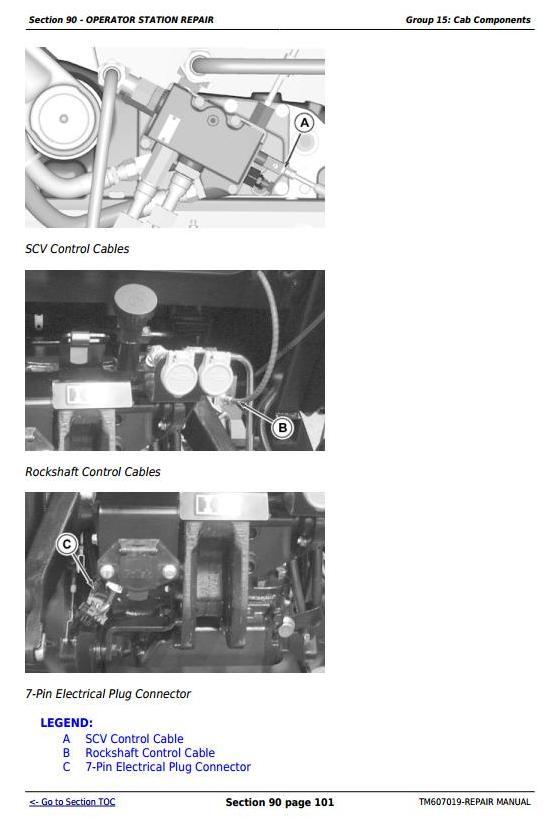 TM607019 - John Deere Tractors 5083E and 5093E Service Repair Technical Manual - 1