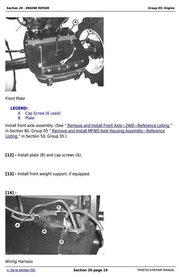 TM607619 - John Deere 5076EF Tractors Service Repair Technical Manual - 3