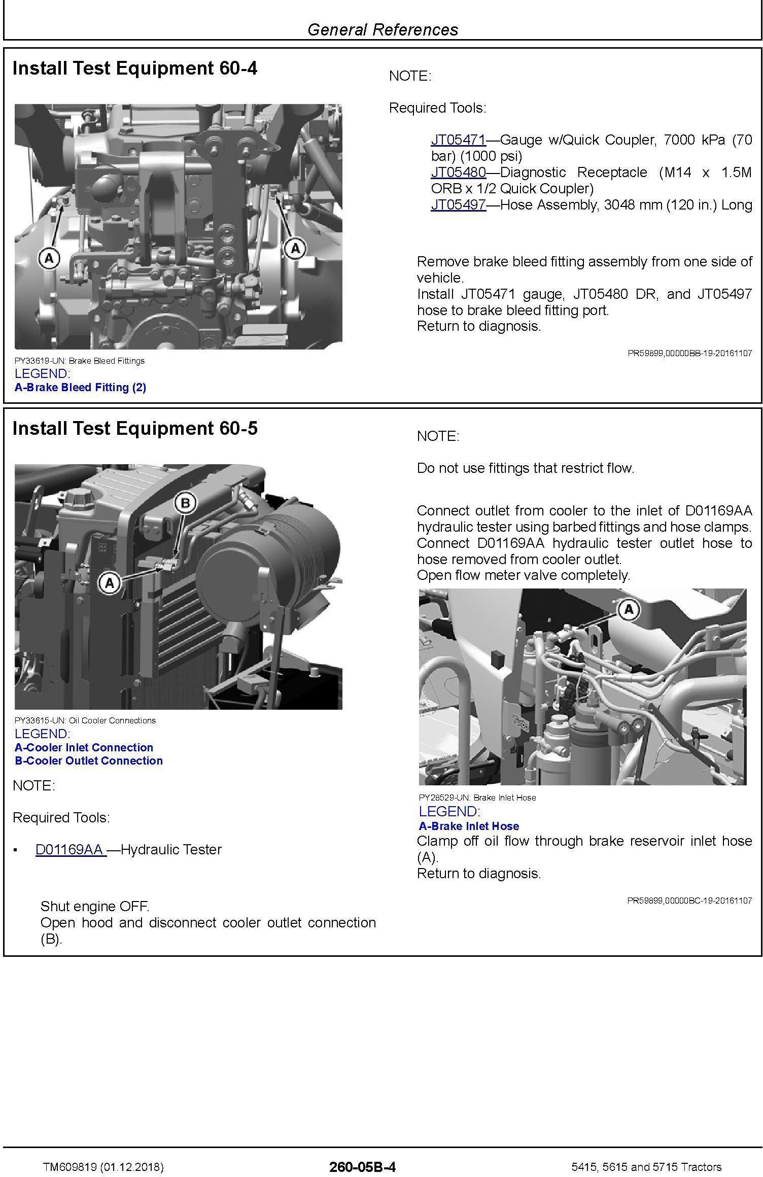John Deere 5415, 5615 and 5715 Tractors Diagnostic Technical Service Manual (TM609819) - 3