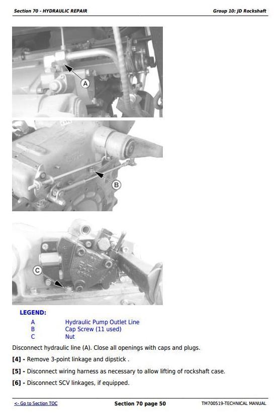 TM700519 - John Deere Tractors 5-750, 5-754, 5-800, 5-804, 5-850, 5-854, 5-900, 5-950 Service Repair Manual - 3