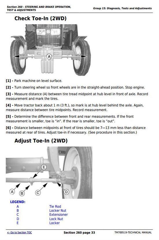 TM700519 - John Deere Tractors 5-750, 5-754, 5-800, 5-804, 5-850, 5-854, 5-900, 5-950 Service Repair Manual - 2