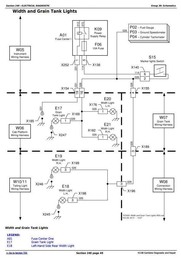 TM702819 - John Deere W230 (4LZ-7,4LZ-8) Combine (SN.015000-) Diagnostic and Repair Technical Manual - 3