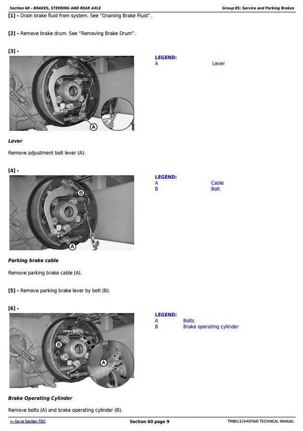 TM801319 - John Deere 1470, 1570, W330 Combines (South America, Europe, CIS) Service Repair Manual - 2
