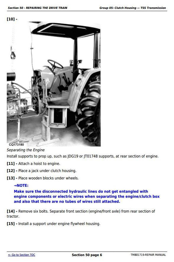 TM801719 - John Deere Tractors 5055E, 5065E, 5075E, 5078E, 5085E, 5090E South America, Africa Repair Manual - 2