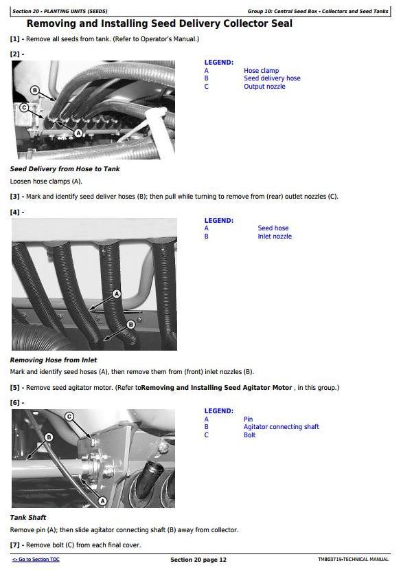 TM803719 - John Deere 2115, 2117, 2122, 2126, 2130, 2134 Planter (SN.-099999) Technical Service Manual - 1
