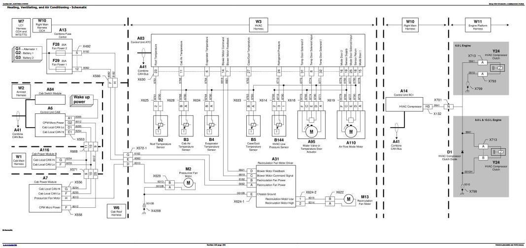 TM803919 - John Deere S540, S550, S660, S670, S680, S690 Combine Diagnostic and Tests Service Manual - 1
