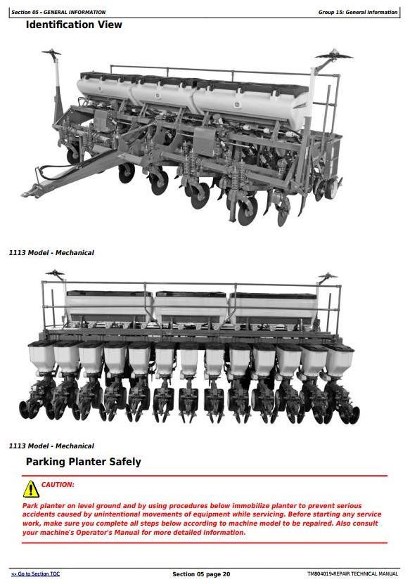 TM804019 - John Deere 1107, 1109, 1111, 1113 Planters (SN.100000-) Technical Service Manual - 3