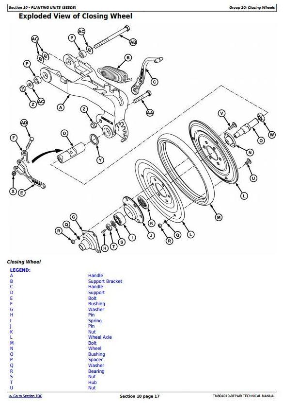 TM804019 - John Deere 1107, 1109, 1111, 1113 Planters (SN.100000-) Technical Service Manual - 1