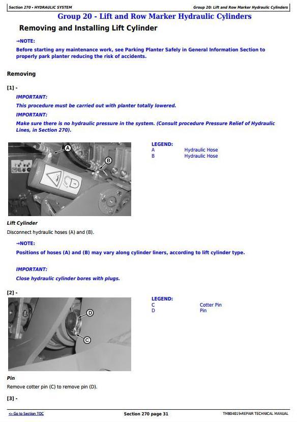 TM804019 - John Deere 1107, 1109, 1111, 1113 Planters (SN.100000-) Technical Service Manual - 2