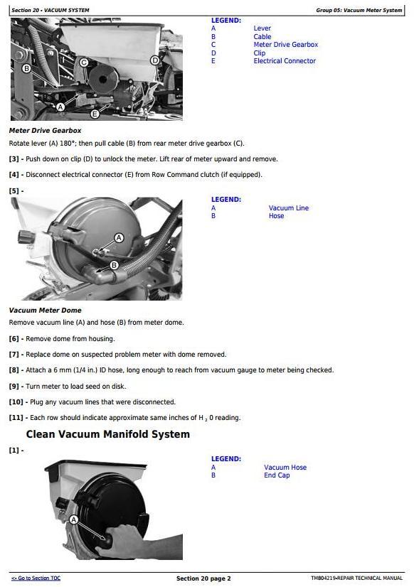 TM804219 - John Deere DB40, DB50, DB74, DB90 South American Planters Service Repair Technical Manual - 3