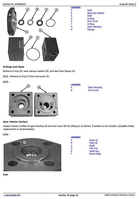 TM804219 - John Deere DB40, DB50, DB74, DB90 South American Planters Service Repair Technical Manual - 2