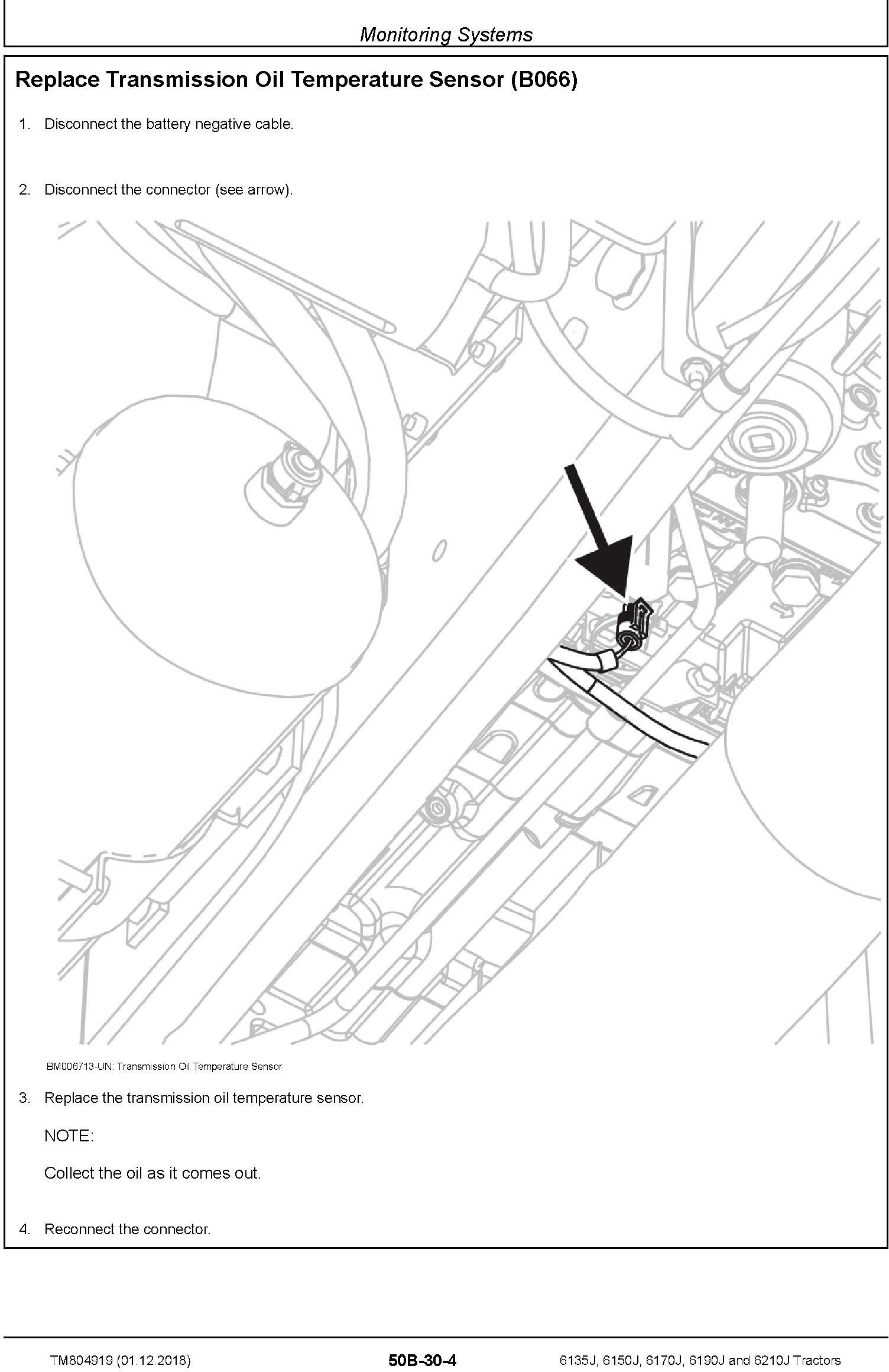 John Deere 6135J, 6150J, 6170J, 6190J and 6210J Tractors Service Repair Technical Manual (TM804919) - 3