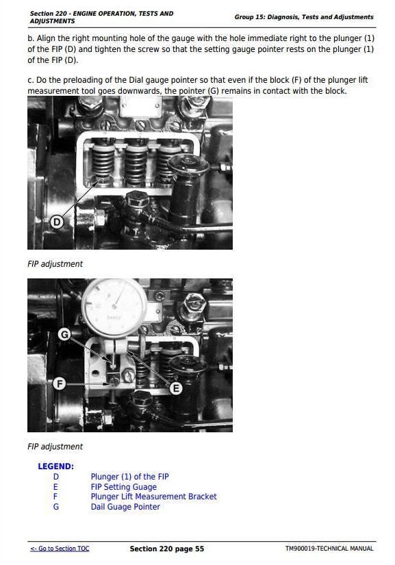 TM900019 - John Deere 5103, 5203, 5303, 5403, 5045, 5055, 5065, 5075, 5204 Tractors Technical Manual - 1
