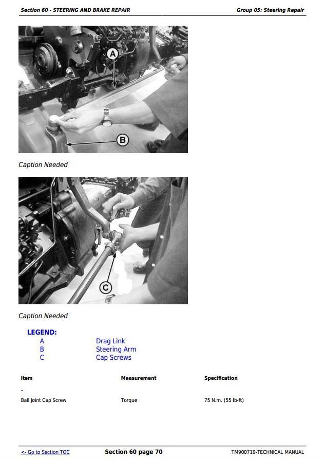 TM900719 - John Deere 5036D, 5038D, 5039D, 5042D, 5045D, 5047D, 5050D, 5105, 5305 Tractors Technical Manual - 1