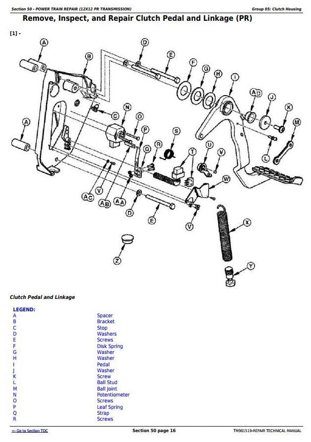 TM901519 - John Deere 5045E, 5055E, 5065E & 5075E (FT4) North America Tractors Service Repair Manual - 2