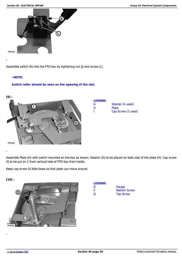 TM901519 - John Deere 5045E, 5055E, 5065E & 5075E (FT4) North America Tractors Service Repair Manual - 3