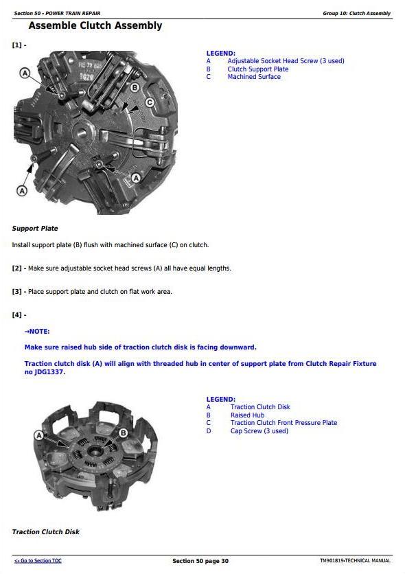TM901819 - John Deere 5055E, 5065E, 5075E Asia, Africa, Middle East Edition Tractors Technical Manual - 1