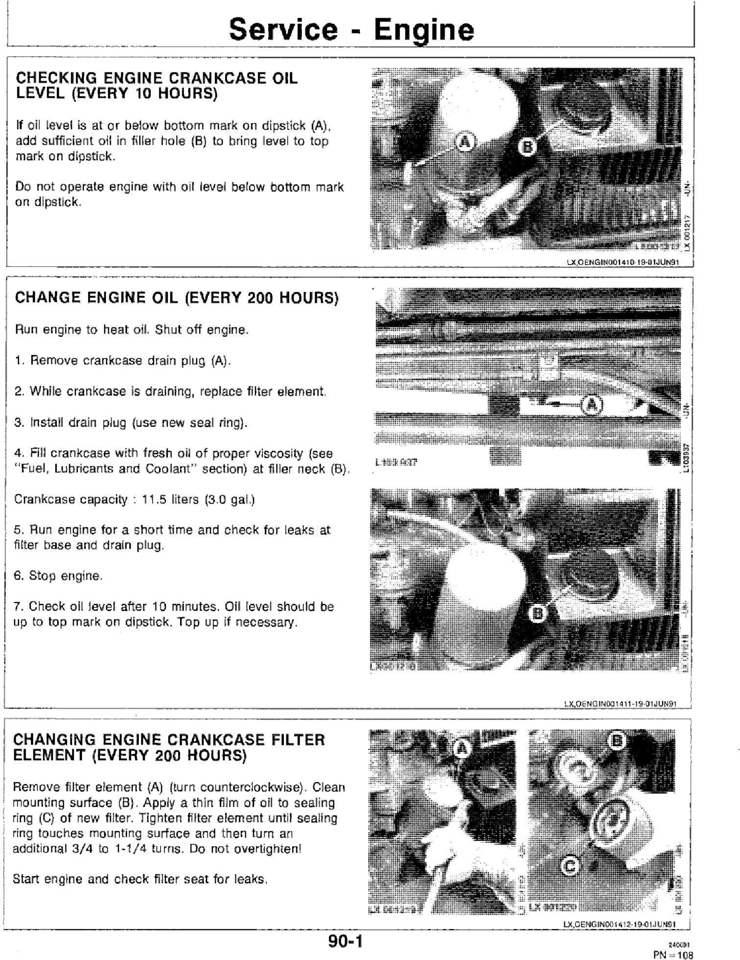 OML64489 - JD John Deere 3055, 3255 Tractors Operator`s Manual - 3