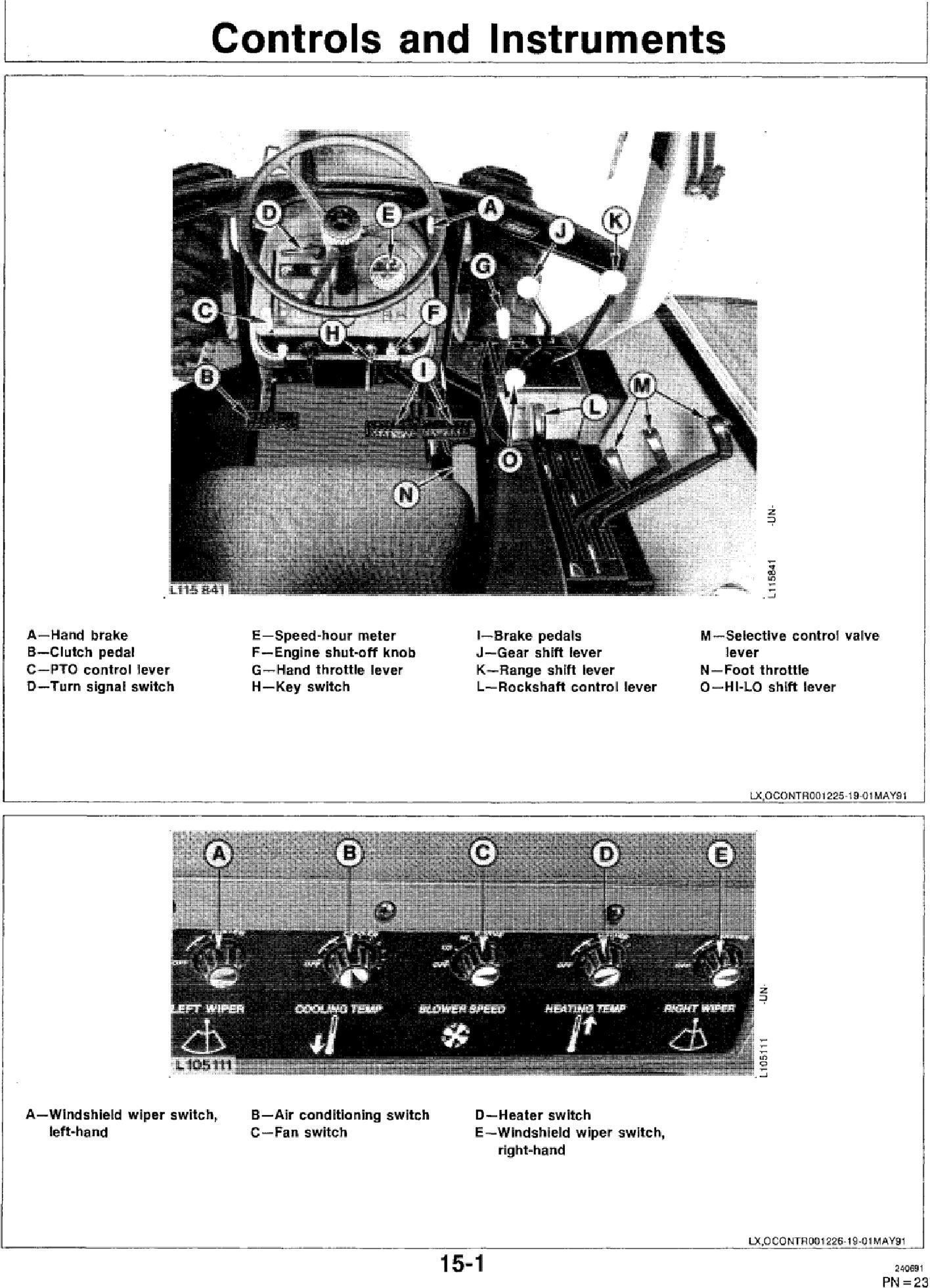 OML64489 - JD John Deere 3055, 3255 Tractors Operator`s Manual - 2