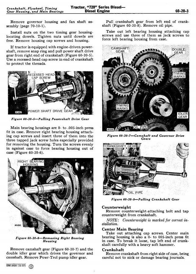 SM2020 - John Deere 720, 730 Tractors Technical Service Manual - 3