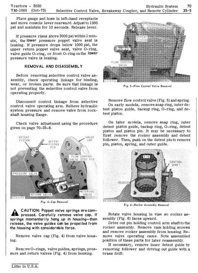 TM1005 - John Deere 3020 Row-Crop Tractor (SN. 123000-) All Inclusive Technical Service Manual - 3