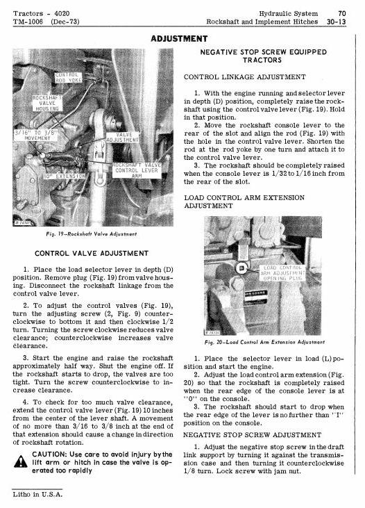TM1006 - John Deere 4000, 4020 Tractors Diagnostic and Repair Technical Service Manual - 3