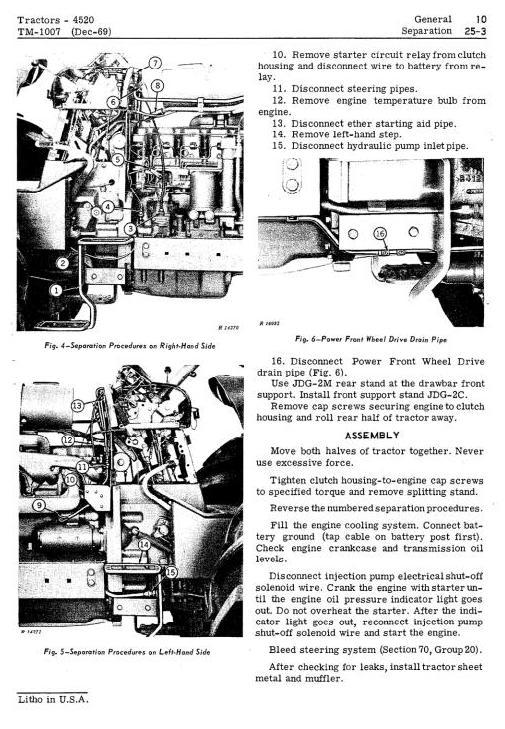 TM1007 - John Deere 4520 Tractors Diagnostic and Repair Technical Service Manual - 1