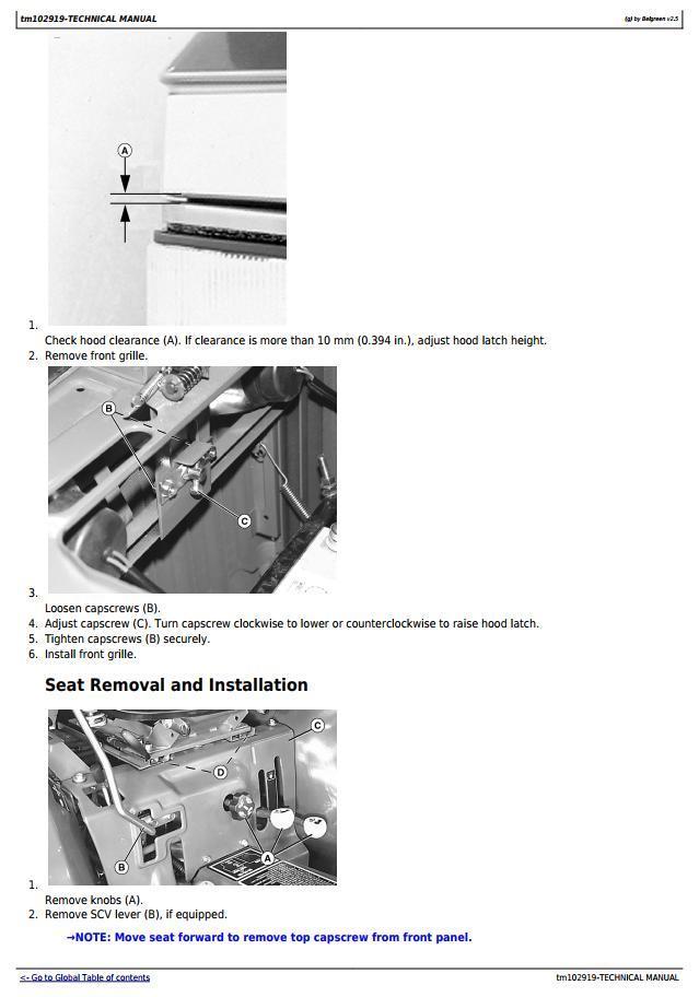 TM102919 - John Deere 3005 Compact Utility Tractors Diagnostic and Repair Technical Manual - 3