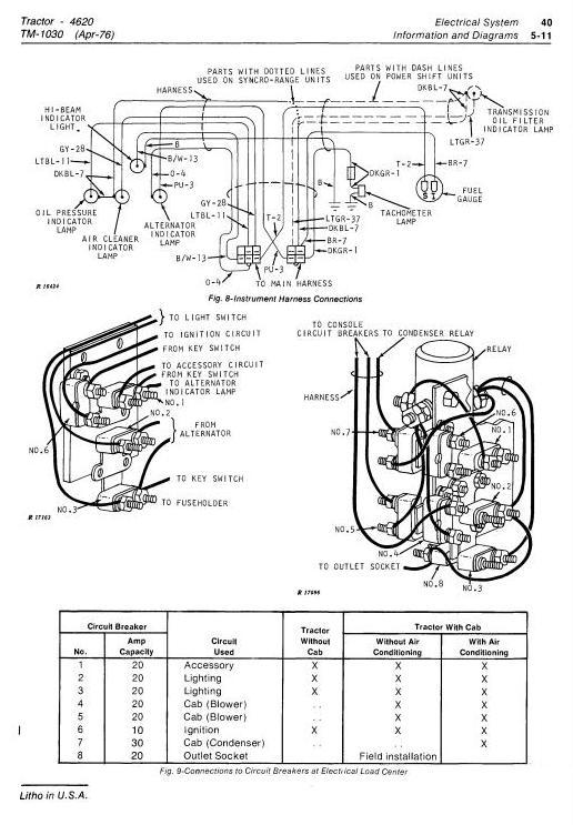 TM1030 - John Deere 4620 Tractors Diagnostic and Repair Technical Service Manual - 2