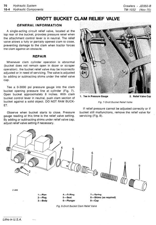 TM1032 - John Deere 350B Crawler Tractors and Loaders Technical Service Manual - 1