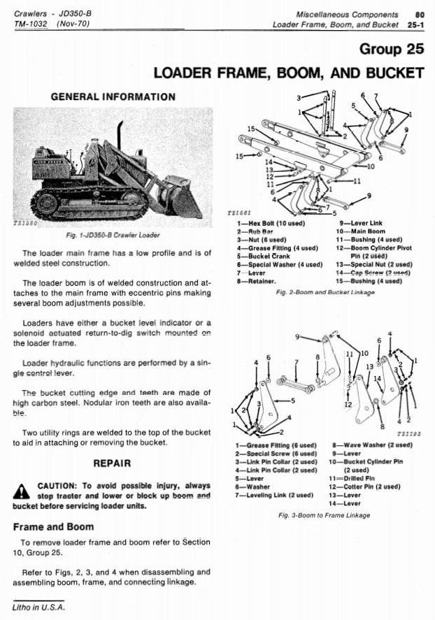 TM1032 - John Deere 350B Crawler Tractors and Loaders Technical Service Manual - 2
