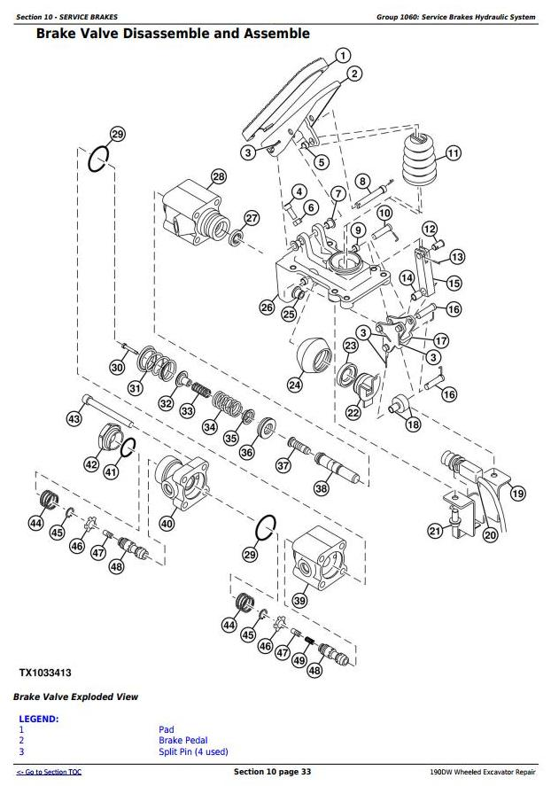 TM10543 - John Deere 190DW Wheeled Excavator Service Repair Technical Manual - 2