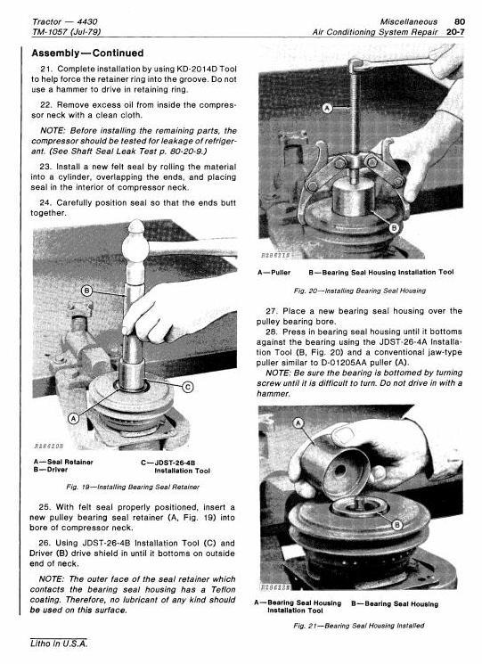 TM1057 - John Deere 4430 Row Crop Tractors (SN.before 033108) Technical Service Manual - 3