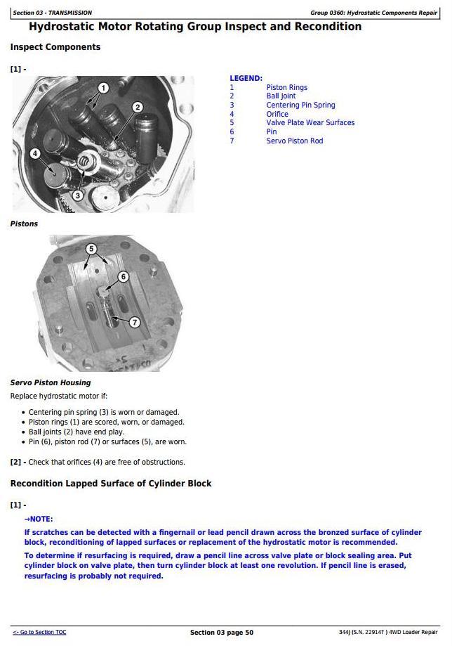 TM11219 - John Deere 344J 4WD Loader (SN. from 22914) Service Repair Technical Manual - 3