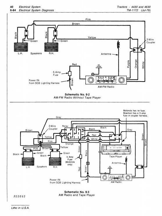 TM1172 - John Deere 4430 (SN.033109-), 4630 (SN.011717-) Row Crop Tractors Technical Service Manual - 2