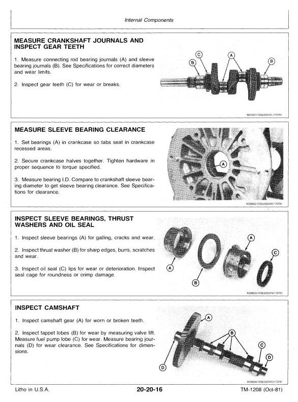 TM1208 - John Deere Hydrostatic Tractor Type 317 All Inclusive Technical Service Manual - 3