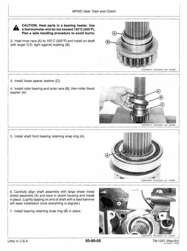 TM1353 - John Deere 4050, 4250, 4450 Tractors All Inclusive Technical Service Manual - 2